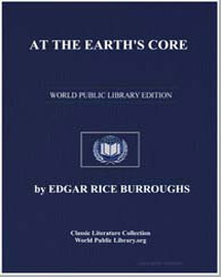 At the Earth's Core by Burroughs, Edgar Rice