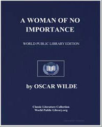 A Woman of No Importance by Wilde, Oscar