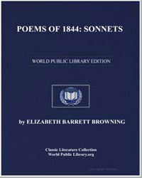 Poems of 1844 : Sonnets by Browning, Elizabeth Barrett