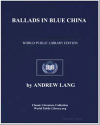 Ballads in Blue China by Lang, Andrew