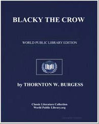 Blacky the Crow by Burgess, Thornton Waldo
