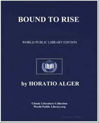 Bound to Rise by Alger, Horatio, Jr.