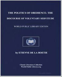 The Politics of Obedience : The Discours... by De La Boetie, Étienne