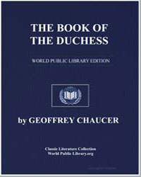 The Book of the Duchess by Chaucer, Geoffrey