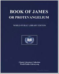 Book of James, Or Protevangelium by Anonymous