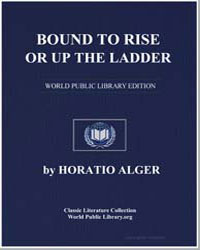 Bound to Rise or up the Ladder by Alger, Horatio, Jr.