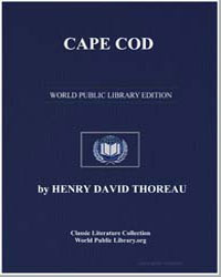 Cape Cod by Thoreau, Henry David