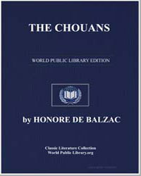 The Chouans by De Balzac, Honore