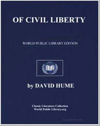 Of Civil Liberty by Hume, David