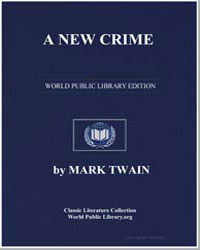 A New Crime by Twain, Mark