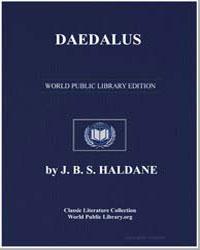 Daedalus by Haldane, J. B. S.