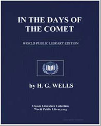 In the Days of the Comet by Wells, Herbert George