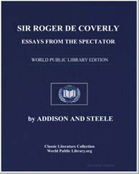 Sir Roger de Coverley: Essays from the S... by Addison, Joseph