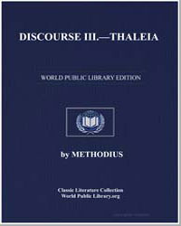 Discourse III : Thaleia by Methodius