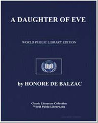 A Daughter of Eve by De Balzac, Honore