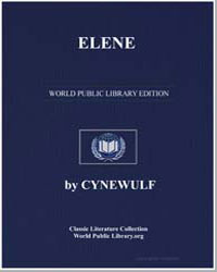Elene by Cynewulf