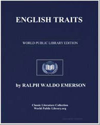 English Traits by Emerson, Ralph Waldo