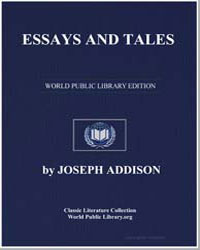 Essays and Tales by Addison, Joseph