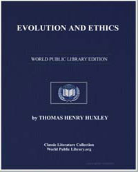 Evolution and Ethics by Huxley, Thomas Henry