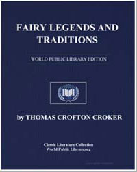 Fairy Legends and Traditions by Croker, Thomas Crofton