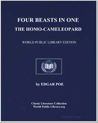 Four Beasts in One : The Homo-Cameleopar... by Poe, Edgar Allan