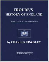 Froude's History of England by Kingsley, Charles