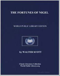 The Fortunes of Nigel by Scott, Walter, Sir
