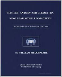 Hamlet, Antony and Cleopatra, King Lear,... by Shakespeare, William