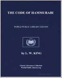 The Code of Hammurabi by King, Leonard W.