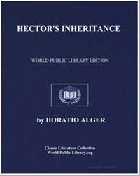 Hector's Inheritance by Alger, Horatio, Jr.
