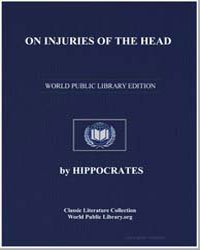 On Injuries of the Head by Hippocrates