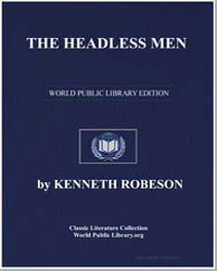 A Doc Savage Adventure : The Headless Me... by Robeson, Kenneth