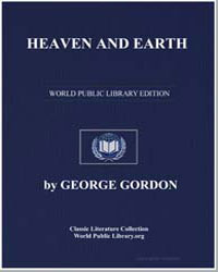 Heaven and Earth by Byron, Lord