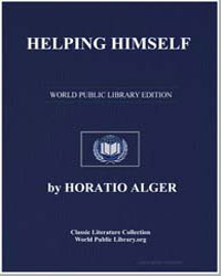 Helping Himself by Alger, Horatio, Jr.