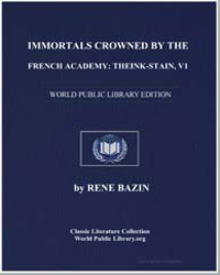 Immortals Crowned by the French Academy ... by Bazin, René