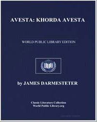 Avesta : Khorda Avesta (Book of Common P... by Darmesteter, James