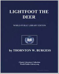 Lightfoot the Deer by Burgess, Thornton Waldo