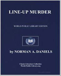 Line-Up Murder by Daniels, Norman A.
