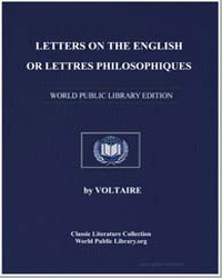 Letters on the English; Or Lettres Philo... by Voltaire