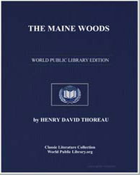The Maine Woods by Thoreau, Henry David