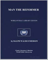 Man the Reformer by Emerson, Ralph Waldo