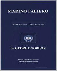 Marino Faliero by Byron, Lord