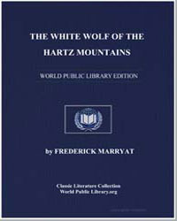 The White Wolf of the Hartz Mountains by Marryat, Frederick, Captain