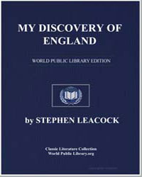 My Discovery of England by Leacock, Stephen