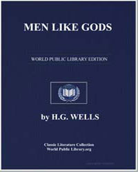 Men Like Gods by Wells, Herbert George
