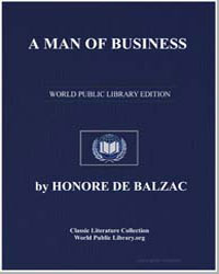 A Man of Business by De Balzac, Honore
