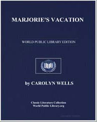 Marjorie's Vacation by Wells, Carolyn