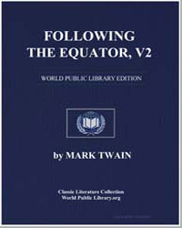 Following the Equator Vol. 2 by Twain, Mark