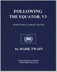 Following the Equator Vol. 3 by Twain, Mark