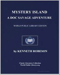 A Doc Savage Adventure : Mystery Island by Robeson, Kenneth